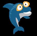 Dolphin-med